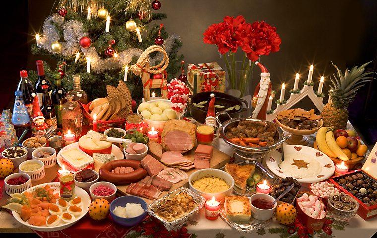Julbord för kunder